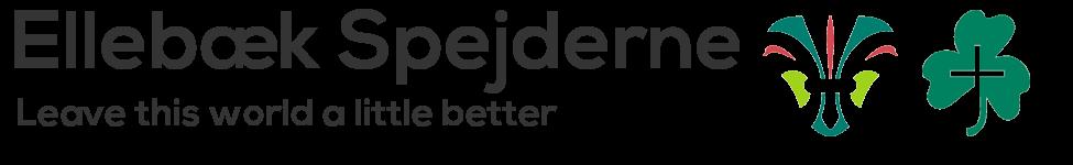 Ellebæk Spejderne - leave this world a little better